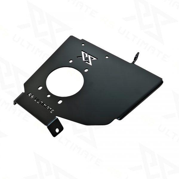 Podstawa / Płyta do zamocowania hamulca ręcznego bez otworowania do tunelu BMW E36 Czarna - GRUBYGARAGE - Sklep Tuningowy